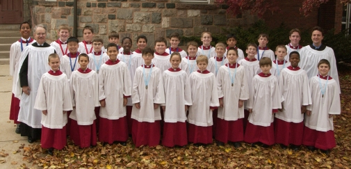 Performing Choir in vestments